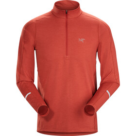 Arc'teryx Cormac Zip Neck LS Top Men infrared